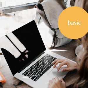 <b> Basic </b>, for blog and portfolio