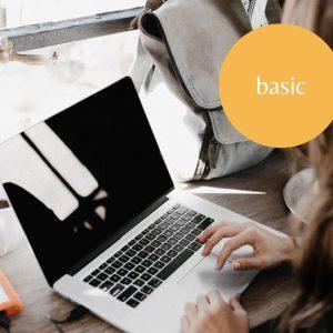 <b>Básico</b>, para blog y portfolio