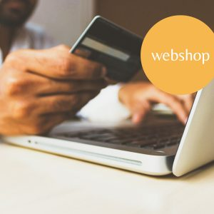 <b> Webshop </b>, to sell your products online